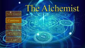 Alchemist Title Screen