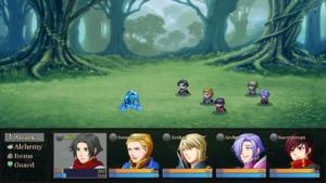 Alchemist Battle Screen